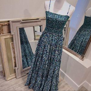 ISSA LONDON KALEIDOSCOPE MAXI DRESS